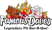 Famous Dave's Logo.