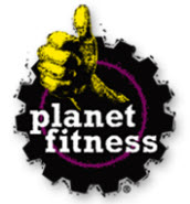Planet Fitness Logo.